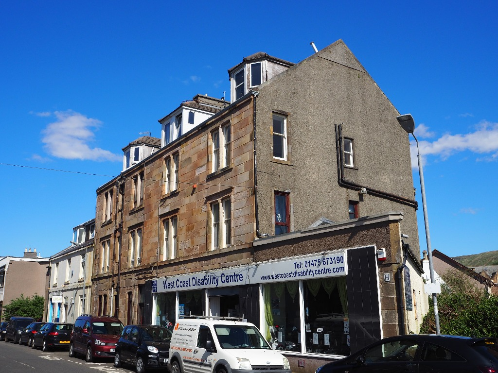 P107: Bath Street, Largs, North Ayrshire