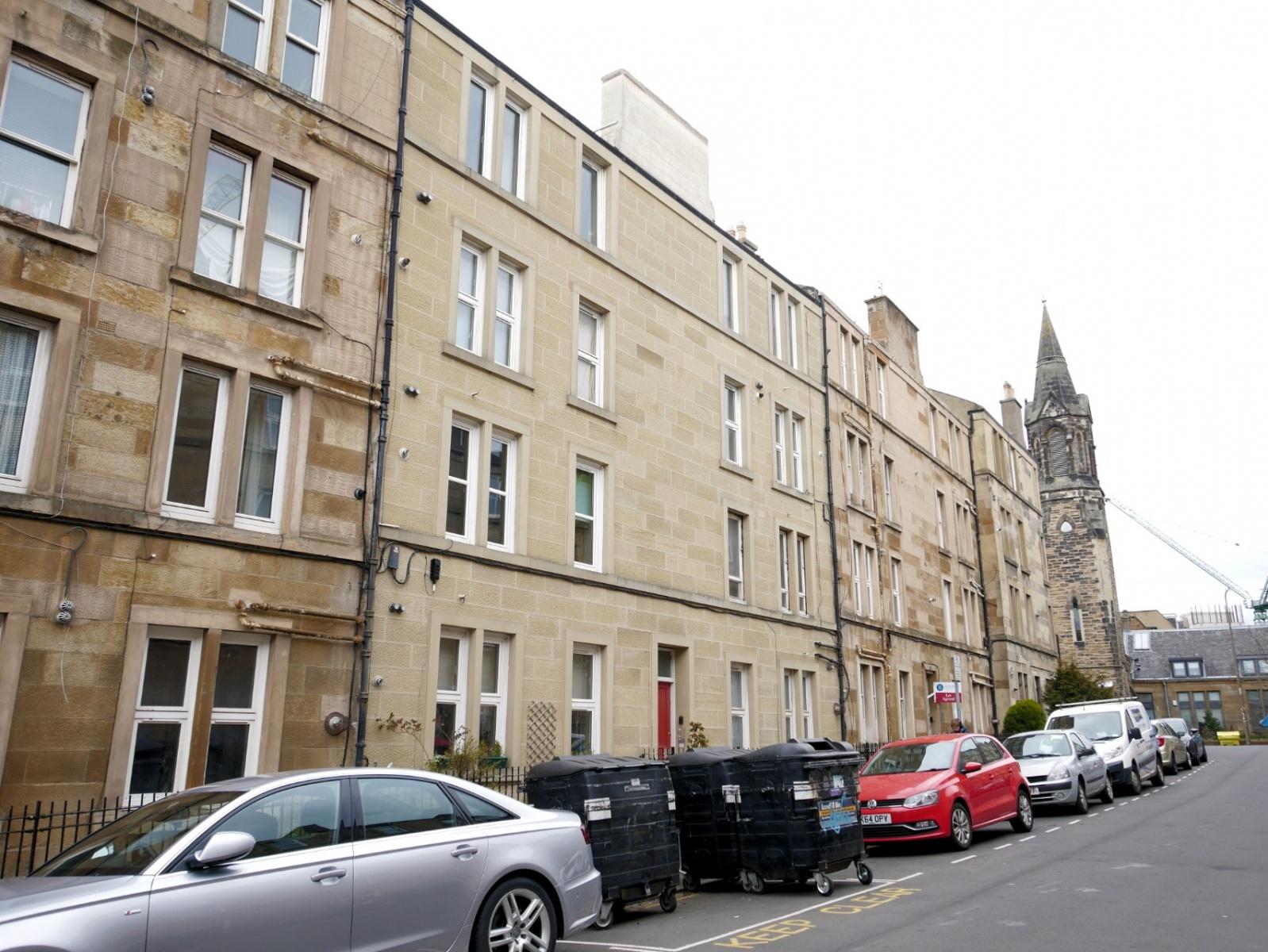 P44: Caledonian Crescent, Haymarket, Edinburgh